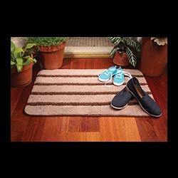 Durų kilimėlis, rudas