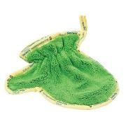 Vaikiška mikropluošto pirštinė dulkėms valyti (BacLock), žalia