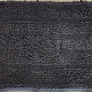 Šenilinis vonios kilimėlis, pilkas